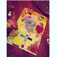 Candyskull#paint#collor#feelings