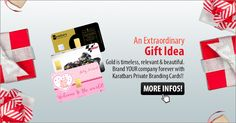 With the gold card of Karatbars you are always spot on!