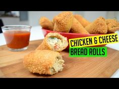 Bread Rolls with Chicken and Cheese | Indian Cooking Recipes | Cook with Anisa | Ramadan Recipe - YouTube