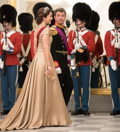 Princess Mary dazzles in a gala of royal glamour