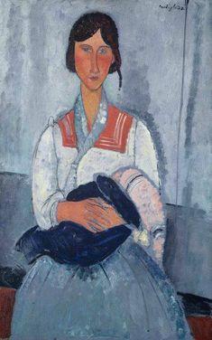 Smart Wonderfull Oil Painting On Canvas Italian Painter Amedeo Modigliani Paintings