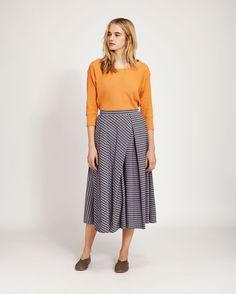 Women's Izumi Stripe Skirt in Skirts