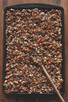 Nut + Honey Coconut granola.