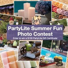 #PartyLite Summer Fun Photo Contest - http://on.fb.me/LT9zb3.