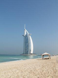 Burj al Arab au petit matin, #Dubai, EAU