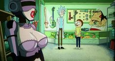 Rick and Morty Season 3 Episode  7 : Tales from the Citadel