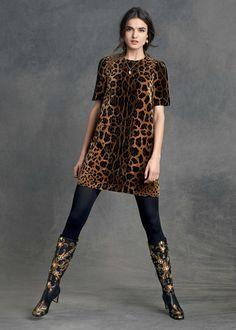 Dolce & Gabbana: una nostálgica lookbook Otoño-Invierno 2015-2016