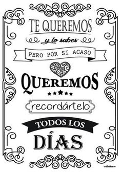 Birthday quotes for dad in spanish gift ideas 42 super Ideas Dad In Spanish, Birthday Quotes, Birthday Wishes, Mr Wonderful, Dad Quotes, Hand Lettering, Diy And Crafts, Kids Crafts, Positivity