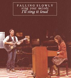 Falling Slowly - this was one of the best Broadway shows I have ever seen!