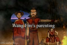 Wang Fire's parenting