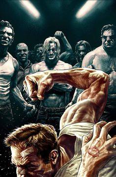 Fight Club 2 #1 by Lee Bermejo *