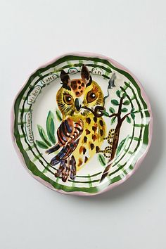 Qui? Dinner Plate #anthropologie