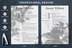Creative resume format for Freshers. Internship Resume template for MS Word and Mac Pages. Simple CV format and Cover Letter examples + References Templates for Resume Cover Letter Format, Cover Letter For Resume, Cover Letter Template, Cover Letters, Modern Resume Template, Creative Resume Templates, Cv Template, Simple Resume Format, Cv Format
