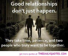 Good Relationships