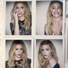 lili Reinhart- I honestly can't cope. Struggling for breath. Look at that top right photo. She's unreal❤️
