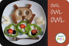 Lovely Owl sandwich