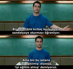 Translate to English, Professional Translation 3 Idiots Film, Beautiful Moments, Beautiful Words, Movie Quotes, Funny Quotes, Funny Gifs, Happiness Challenge, Good Sentences, Aamir Khan