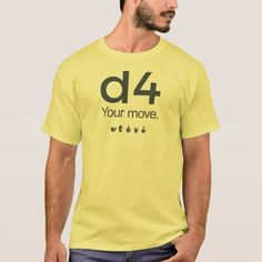 D4 Chess Shirt: Series 1 T-Shirt - tap, personalize, buy right now!