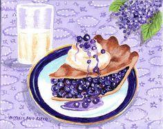 Blueberry Pie by Patricia Ann Rizzo
