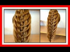 HAIR STYLE FOR LONG HAIR 5 STRAND BRAID HAIRSTYLE / HairGlamour Styles / Hairstyles / Hair Tutorial - YouTube