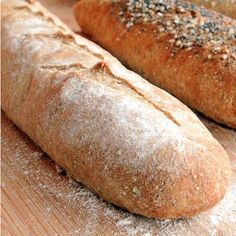Who knew making whole wheat baguettes at home could be so easy!