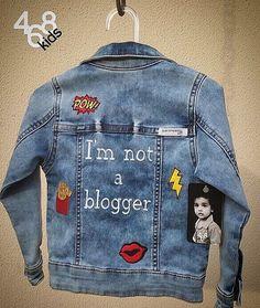 Se Gucci e Dolce&Gabbana dizem que 2017 é o ano dos bordados, a gente concorda! E como mini fashion já nasce cheio de atitude, a 468kids faz jaquetinhas lindas assim para eles! 😌😻 #468kids #use468 #fashionkids #brasil #bomdia #patches #embroidery #denim