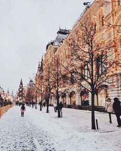 "19.4k Likes, 163 Comments - Tatiana Vasilieva (@tattivasilieva) on Instagram: ""❄️☃️🎄 Moscow"""