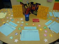 open house, back to school night ideas!