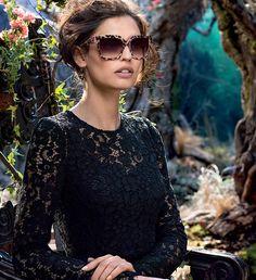 Dolce & Gabbana Eyewear F/W 2014 | Bianca Balti by Domenico Dolce