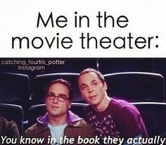 I'm pretty sure I annoy people when we go to see movies....>>>> I was doing this when I went to go see The 5th Wave... And Sea of Monsters... And Divergent...