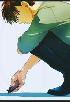 Is that a bug? Me Anime, Anime Guys, Manga Anime, Anime Art, Conan, Detective, Kaito Kuroba, Kaito Kid, Kuroo Tetsurou