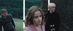 Hermione can clearly fight her own battles. 19 Reasons Hermione Shouldn't Have Gotten Married At All Hermione Granger, Draco Malfoy, Hermione Gif, Harry Potter Gif, James Potter, Misandry, Prisoner Of Azkaban, Dramione, Emma Watson