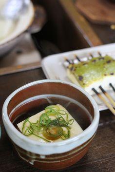 湯豆腐 yudoufu , Okutan Kiyomizu