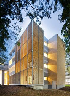 Architecutus, University of New South Wales Student Housing, 2010 Facade Architecture, Residential Architecture, Amazing Architecture, Contemporary Architecture, Small Buildings, Modern Buildings, Container Buildings, Student House, Facade Design