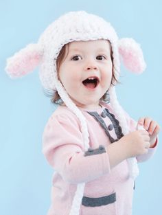 Little Bo' Baby Sheep Hat | crochet today