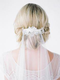 MONROE fingertip wedding veil - Jarred Tyers Photography, Christina Cleary Makeup Artist, Jules Hair, Savvy Brides, Bridgette Abood