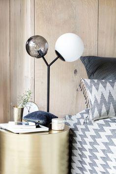 LED RETRO Schreib Tisch Lampe Spot beweglich beton-farben Ess Zimmer Beleuchtung
