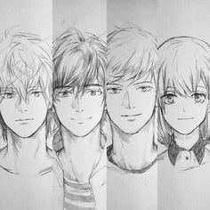 シンジ イラスト置き場 (OCs Akira | Sousuke | Kenta | Mariko #oc ...