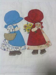 Applique Patterns, Applique Designs, Quilt Patterns, Embroidery Designs, Patch Quilt, Quilt Blocks, Quilting Projects, Quilting Designs, Sunbonnet Sue