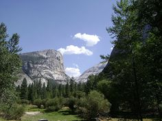 Yosemite National Park - Mirror Lake  #Yosemite #YosemiteNationalPark  #California #USA