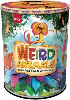 Use promo code VE13102 at checkout to get free shipping on your starter kit! OFFER ENDS 11/8/2013. http://group.com/OrderWeirdAnimals  Your Weird Animals Ultimate VBS Starter Kit comes filled with everything you need to start planning a truly memorable Weird Animals 2014 vacation Bible school. Learn more at http://group.com/vbs