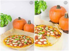 Glutenfree pizza made with pumpkin
