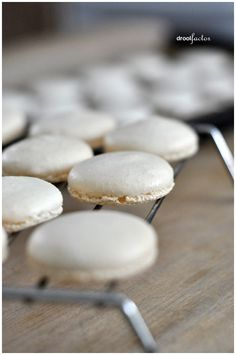 Macaroons Do's and Don'ts. Plus recipe Wow that is helpful information. But I'm definitely intimidated by how much work they would be... -v