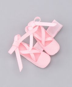 They're made of ribbons...and tiny!  Clip by Bubbly Bows on #zulily today!
