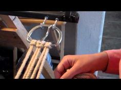 How To Make a Mohair Cinch, Part 3 - YouTube