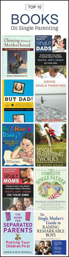 Single Parenting Books: If any of these situations is yours, there is help at hand in the form of books. Read on to find out ten books that tell you all about single parenting.Here is our list of the top ten books from around the world that talk about single #parenting for both moms and dads