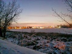 Colorado winter sunrise