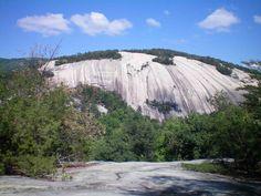 Stone Mountain National Park North Carolina | Photograph of Stone Mountain, North Carolina by Nathan Lyons.