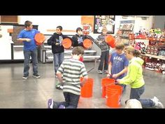 Three Rivers Christian School and graders visited Home Depot and performed their bucket rhythm routine. Music Lesson Plans, Music Lessons, Music Activities, Music Games, Bucket Drumming, Middle School Music, Christian School, Christian Music, Creative Curriculum