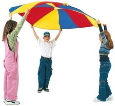Pacific Play Tents 18005 Funshute Parachute 6' DIA
